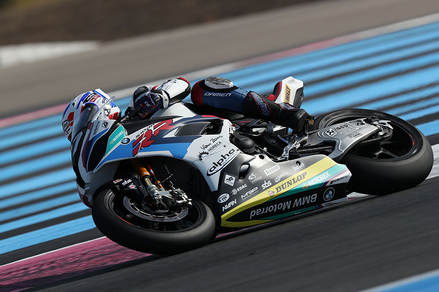 BMW Motorrad World Endurance Team completes two-day test with the BMW S 1000 RR in Le Castellet.