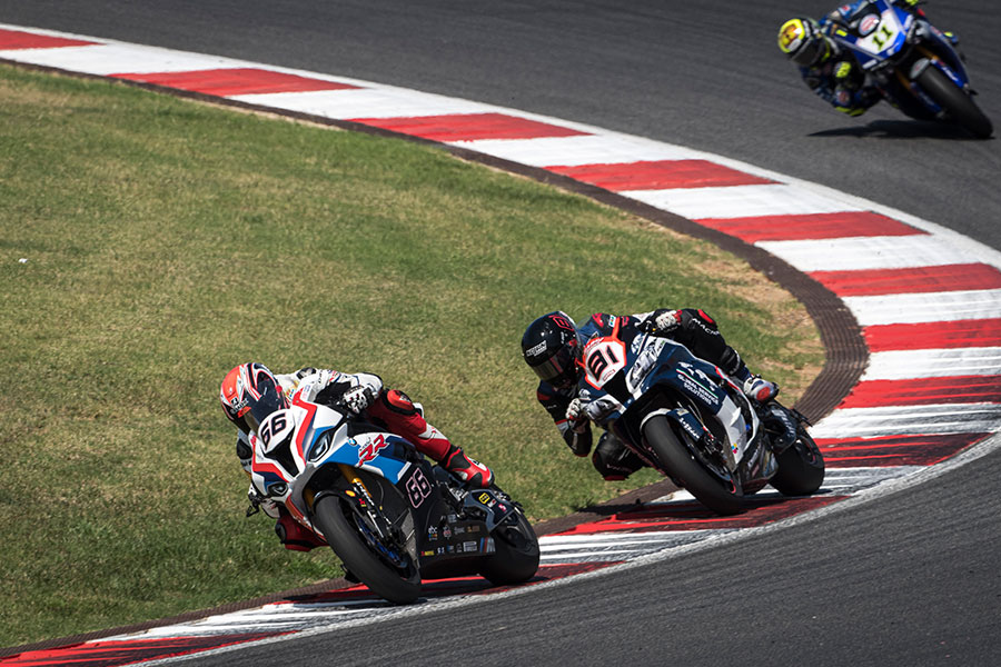 Difficult Sunday for the BMW Motorrad WorldSBK Team at hot Portimão