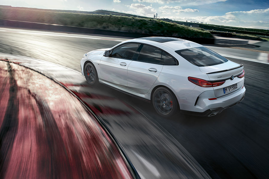 M Performance Parts enhance athletic character of new BMW 2 Series Gran Coupe even further